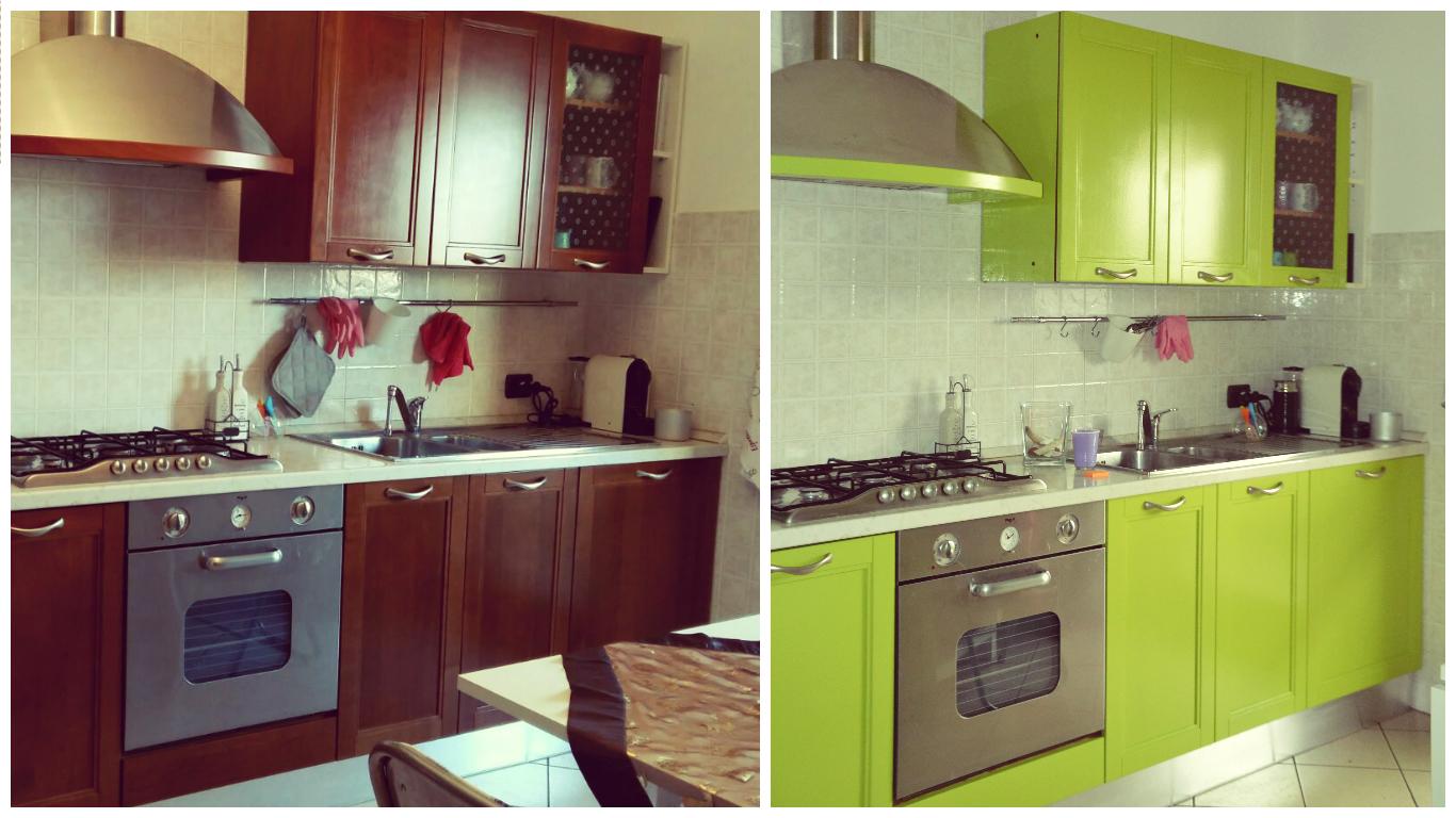 Beautiful sostituire ante cucina photos ideas design - Cambiare colore cucina ...