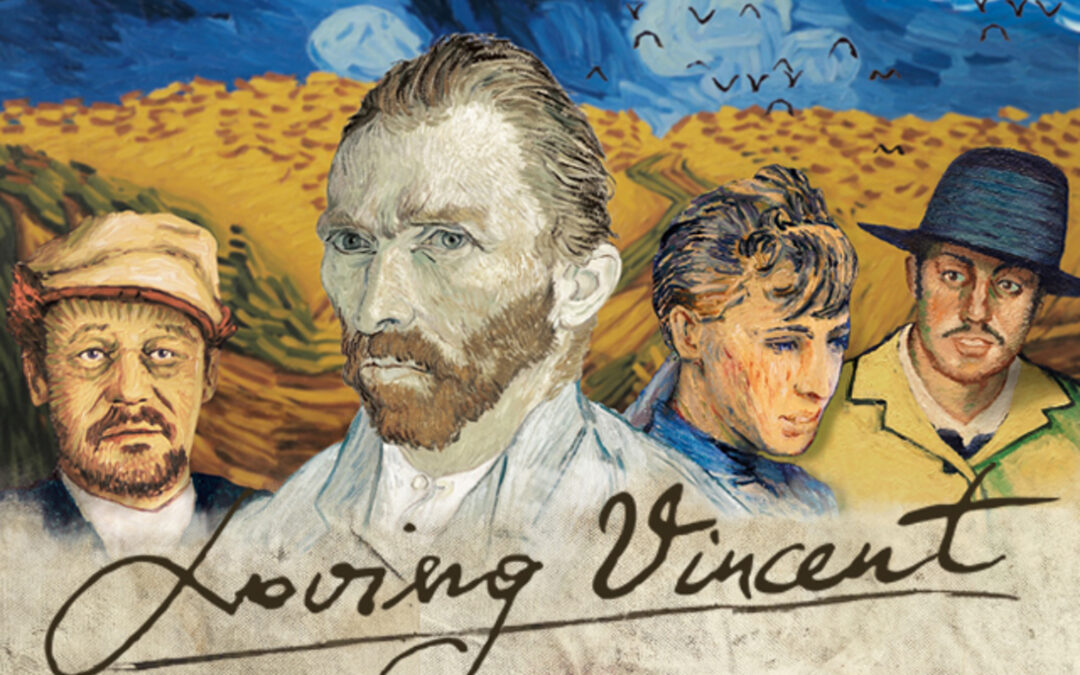LOVING VINCENT: VAN GOGH  AI GOLDEN GLOBE