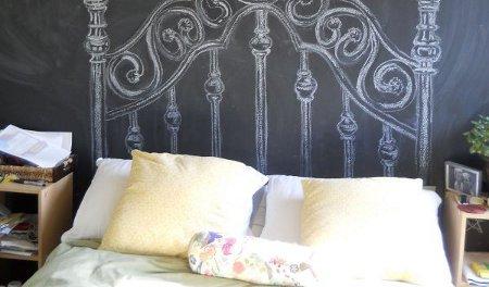 Come realizzare una parete effetto lavagna dimarcolor for Vernice pareti